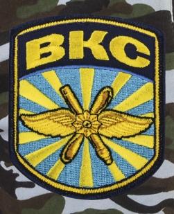 Мужские милитари шорты с нашивкой ВКС