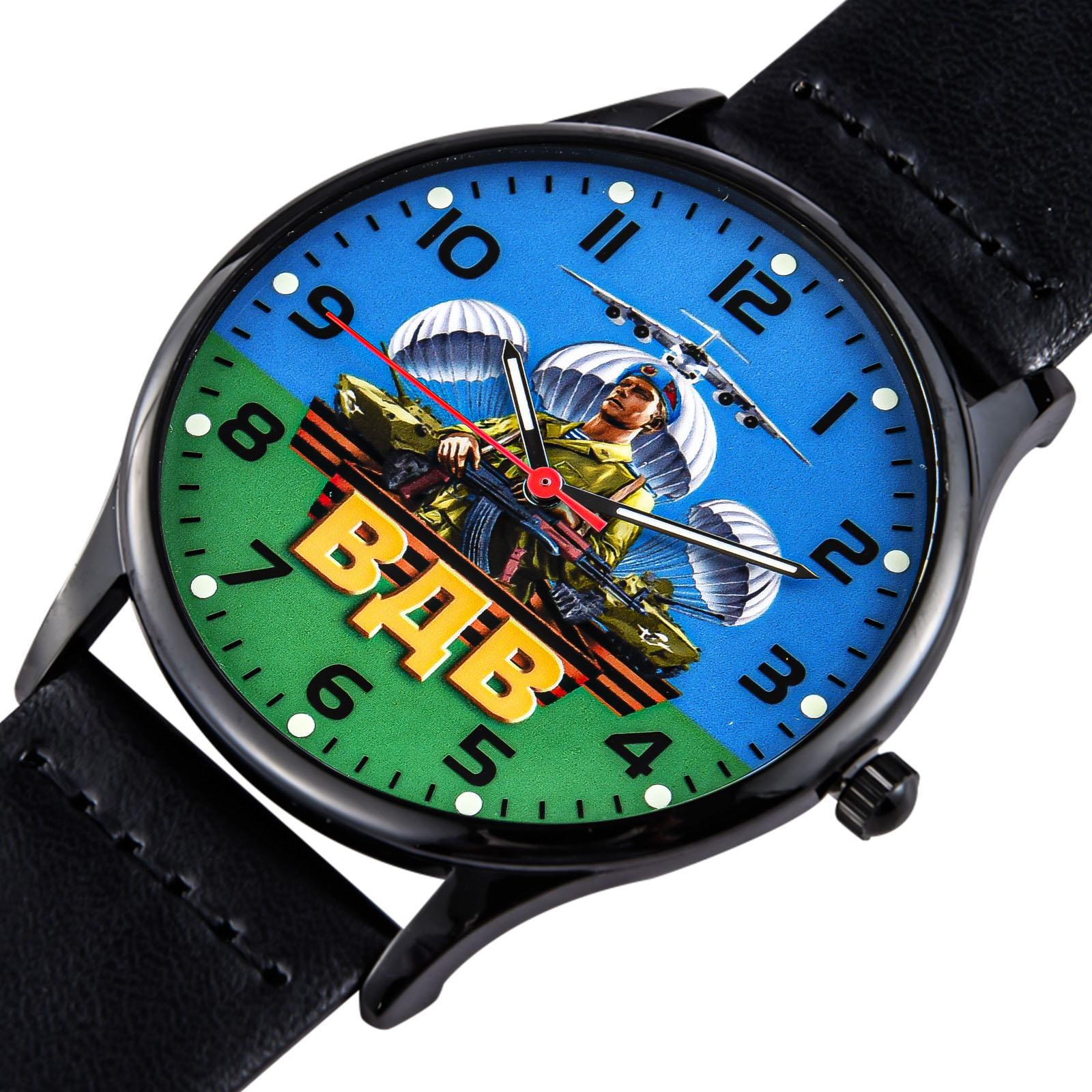 Мужские наручные часы ВДВ с десантным принтом – крутой подарок