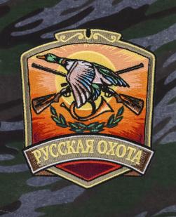 Мужские охотничьи шорты с карманами и нашивкой Русская Охота