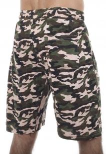 Мужские оригинальные шорты с нашивкой РХБЗ - заказать оптом