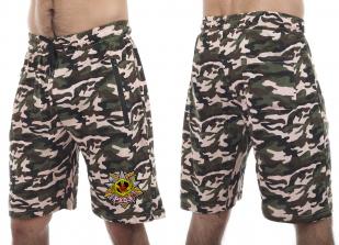 Мужские оригинальные шорты с нашивкой РХБЗ - заказать выгодно