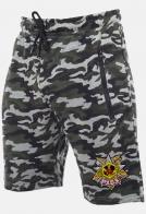 Мужские особенные хаки-шорты с нашивкой РХБЗ