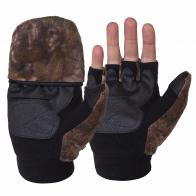 Мужские перчатки-варежки Thinsulate с откидным верхом HOT SHOT из флиса