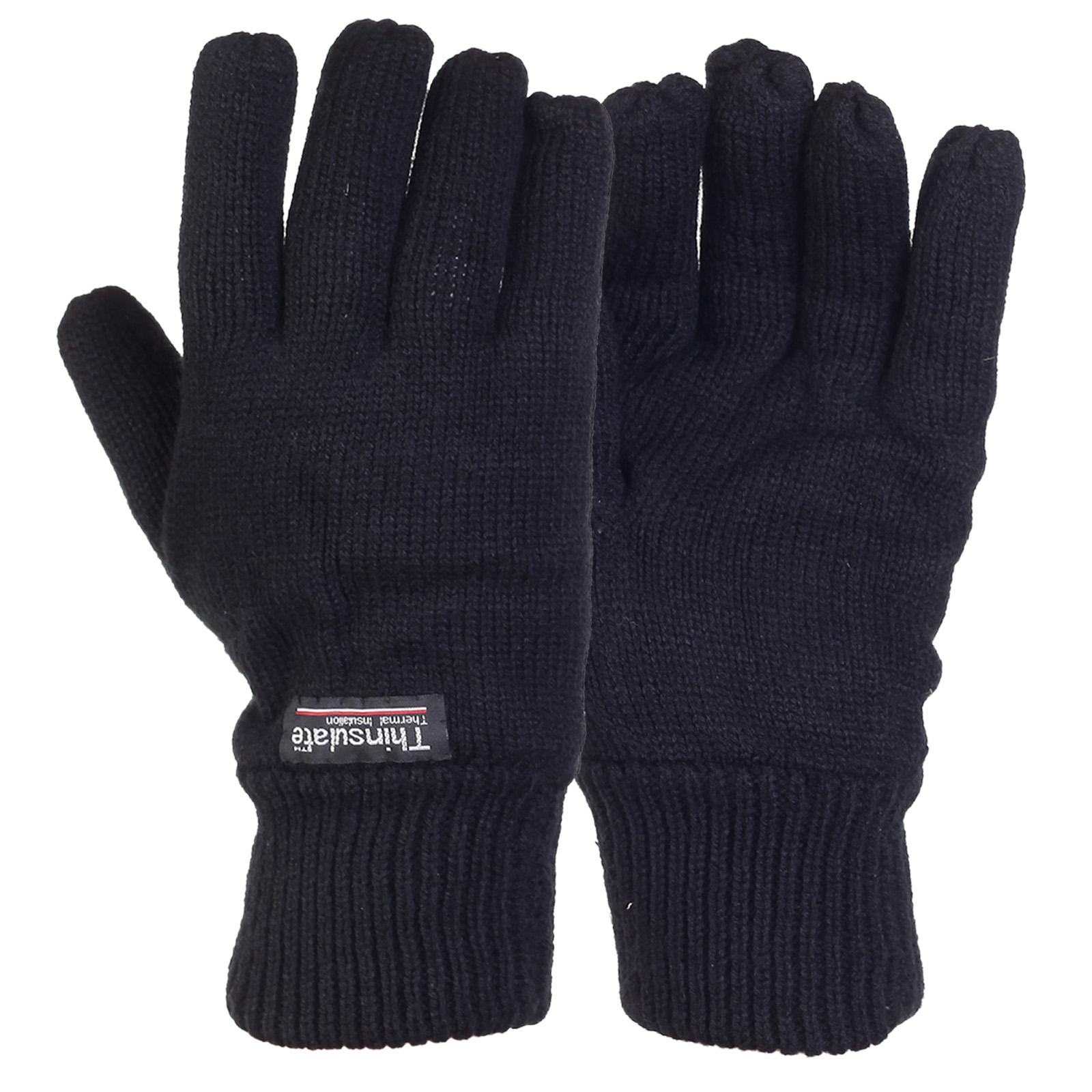 Зимние мужские перчатки Thinsulate – недорого и удобно