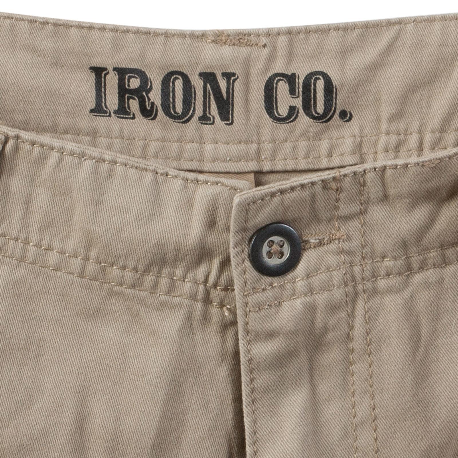 Мужские песочные шорты - производитель Iron Co.