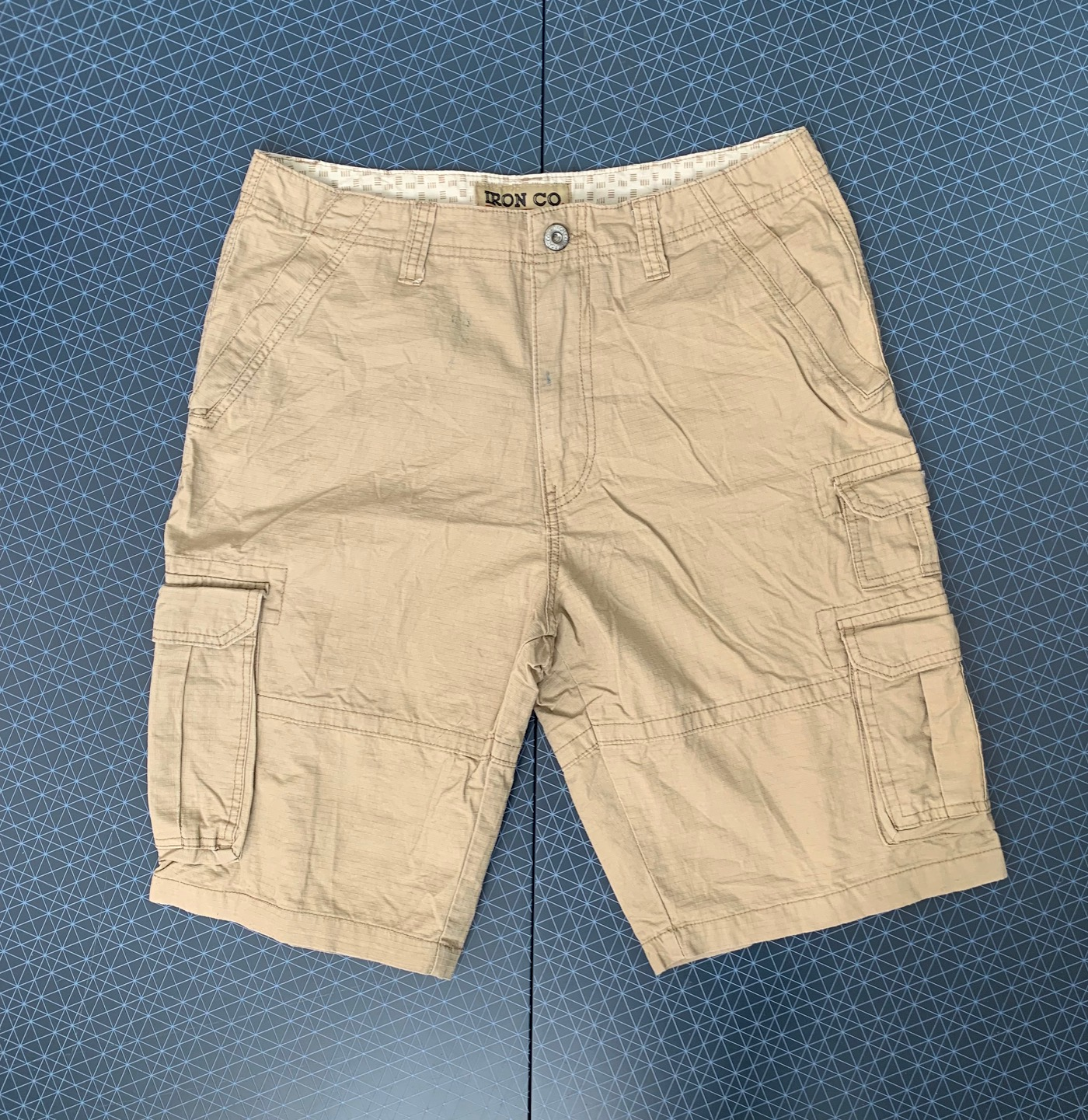 Мужские песочные шорты от IRON CO