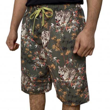 Мужские пляжные шорты от Septwolves
