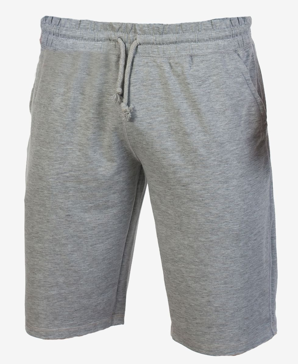 Мужские серые шорты   Купить трикотажные шорты для мужчин