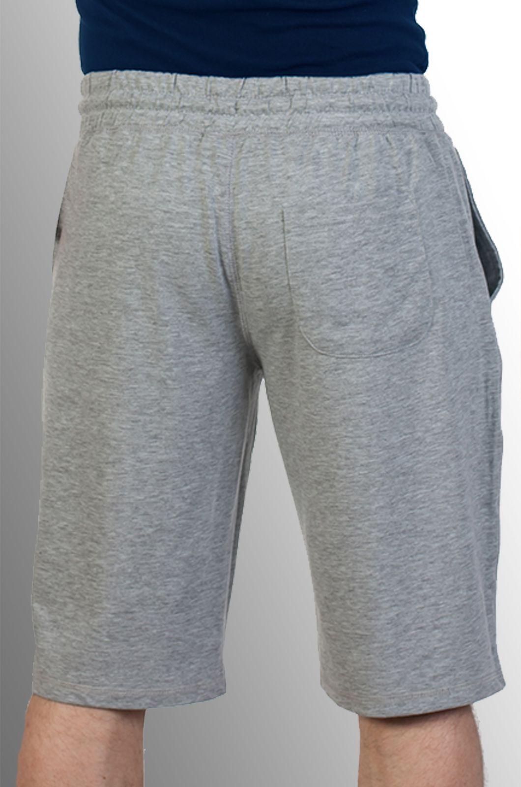 Мужские серые шорты по выгодной цене