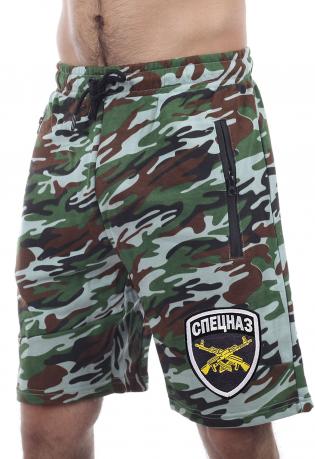 Элемент униформы Спецназа – мужские шорты камуфляж.