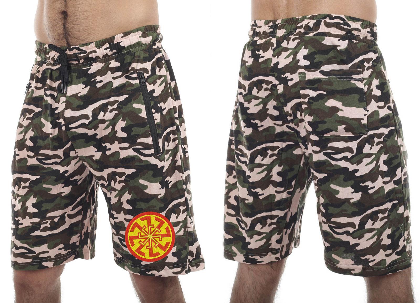 Мужские шорты Military оптом в Военпро