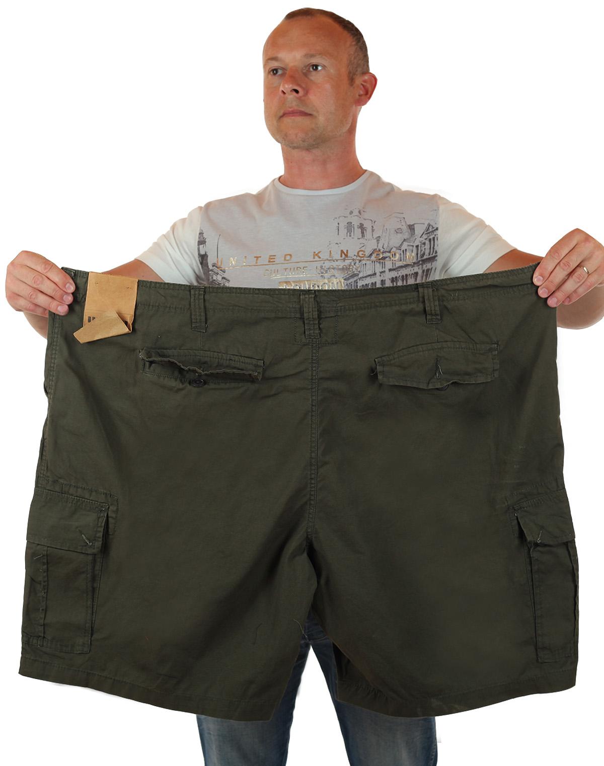 Заказать мужские шорты баталы в стиле милитари от Urban Pipeline