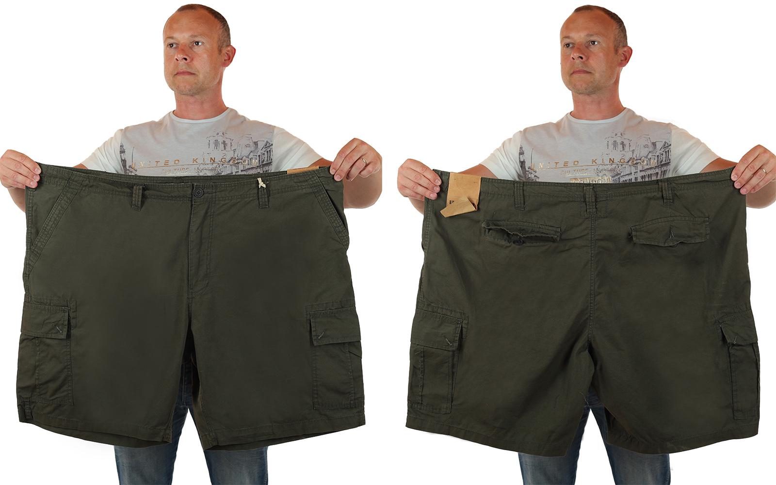 Мужские шорты баталы в стиле милитари от Urban Pipeline по лучшей цене