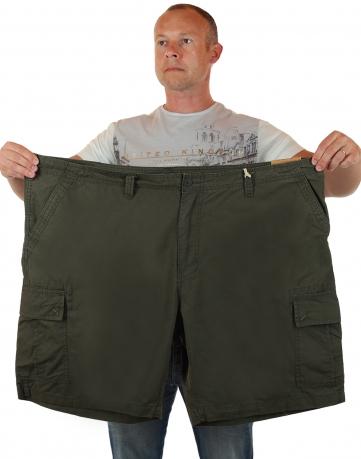 Мужские шорты баталы в стиле милитари от Urban Pipeline