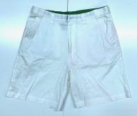 Мужские шорты белого цвета с карманами