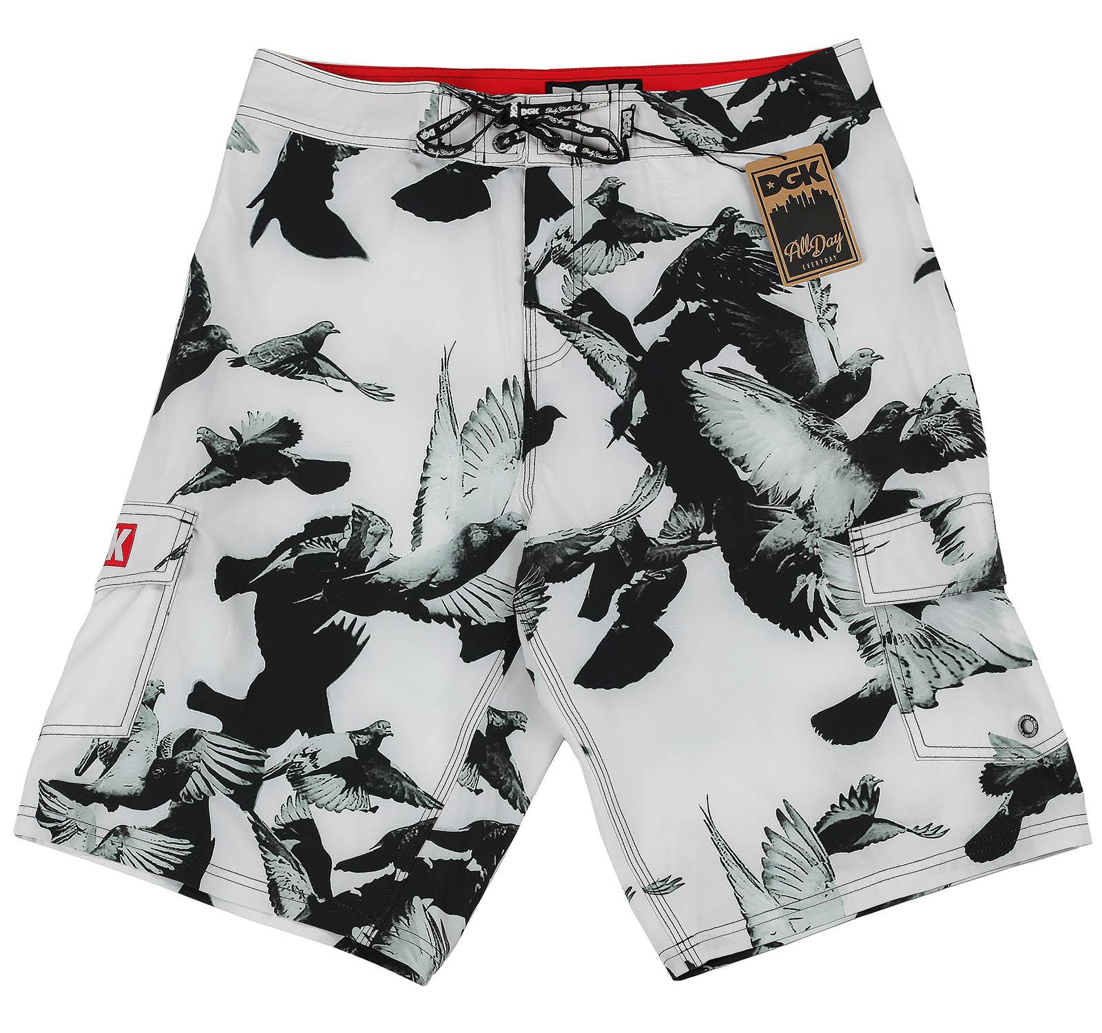 Мужские шорты DGK с птицами