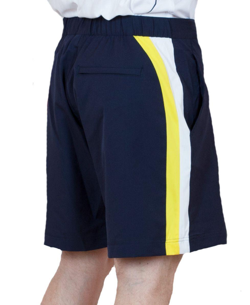 Удобные мужские шорты для спорта - вид зади