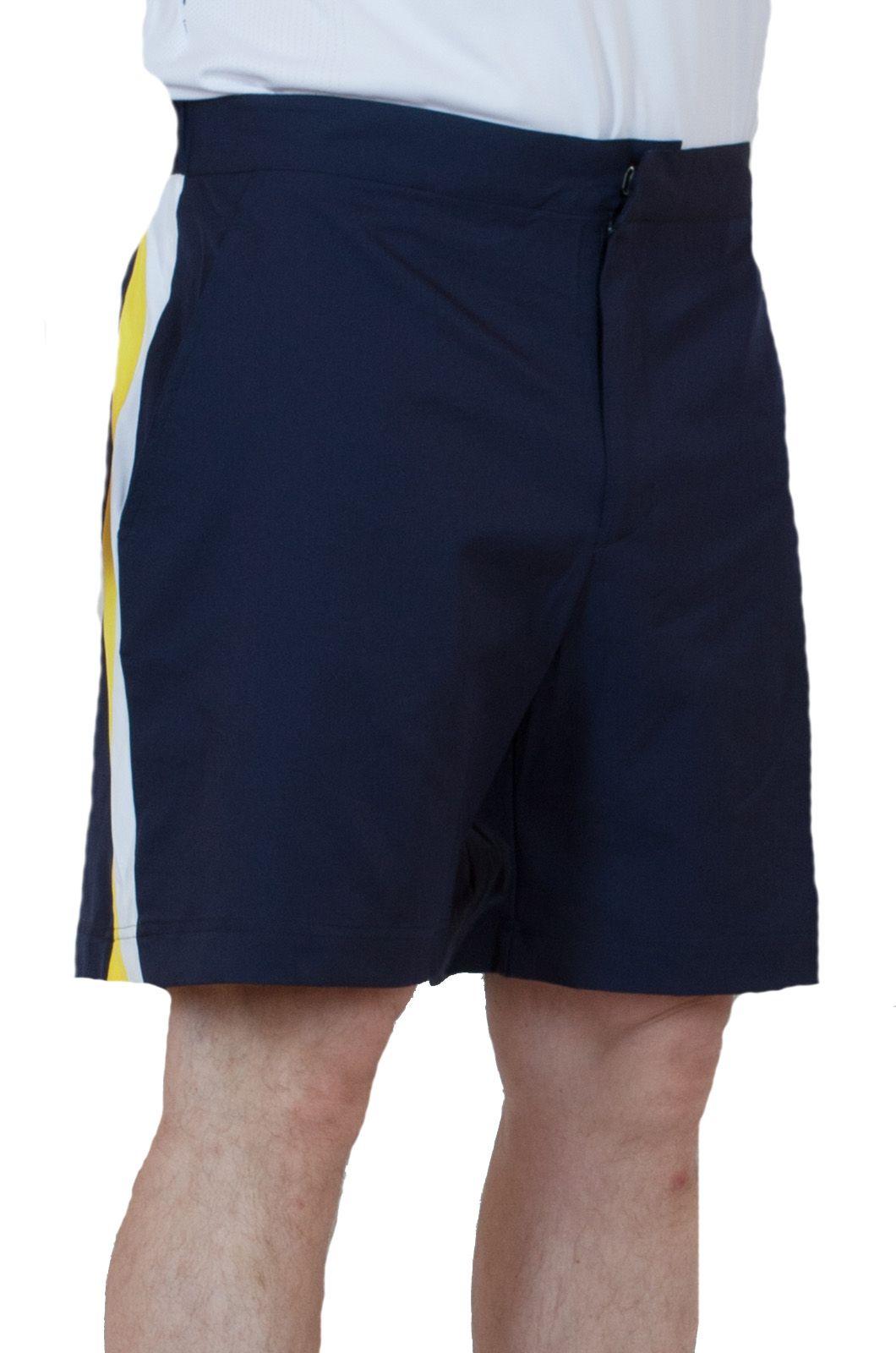 Удобные мужские шорты для спорта - вид сбоку
