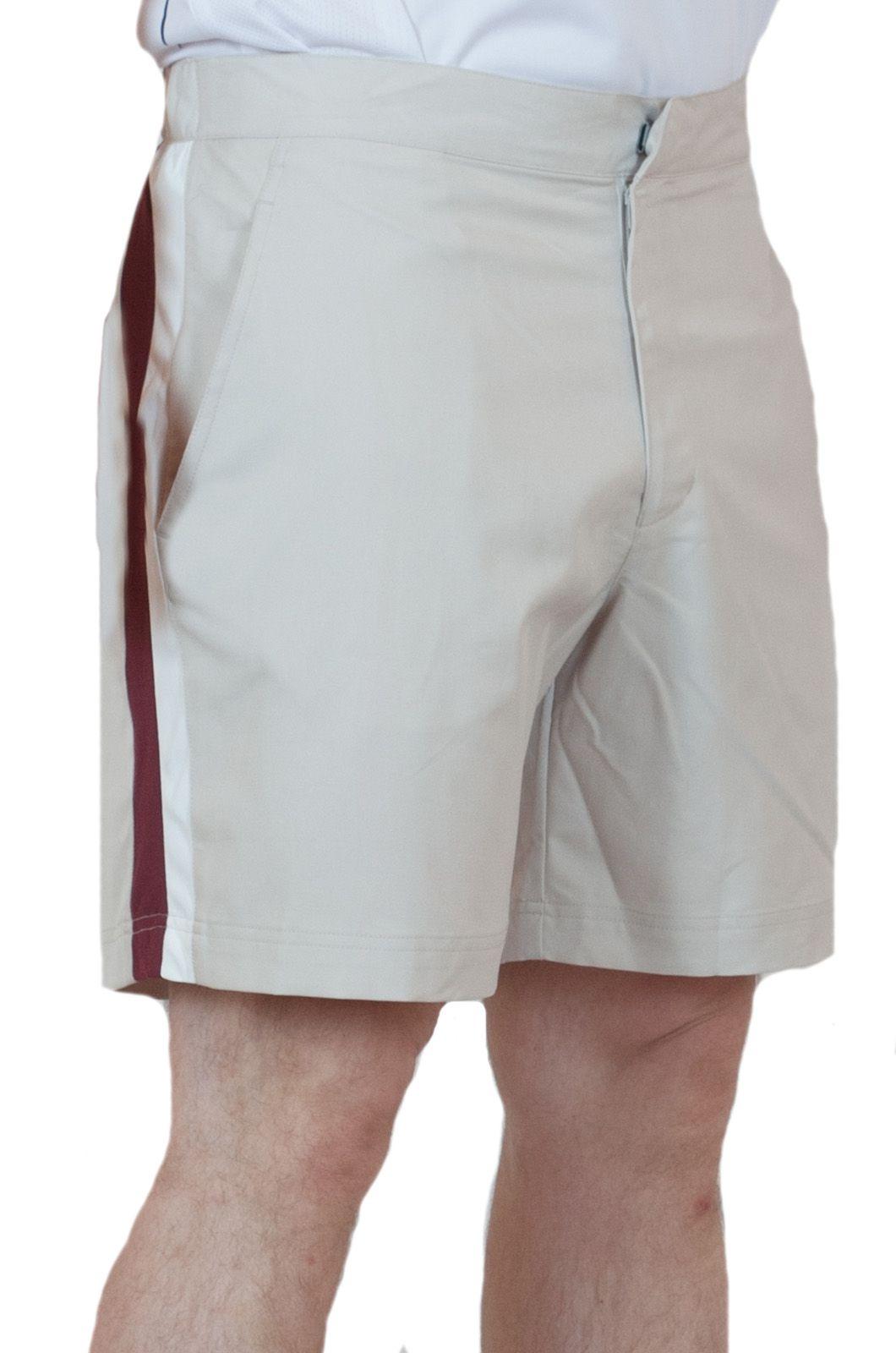 Мужские шорты для тенниса - вид сбоку