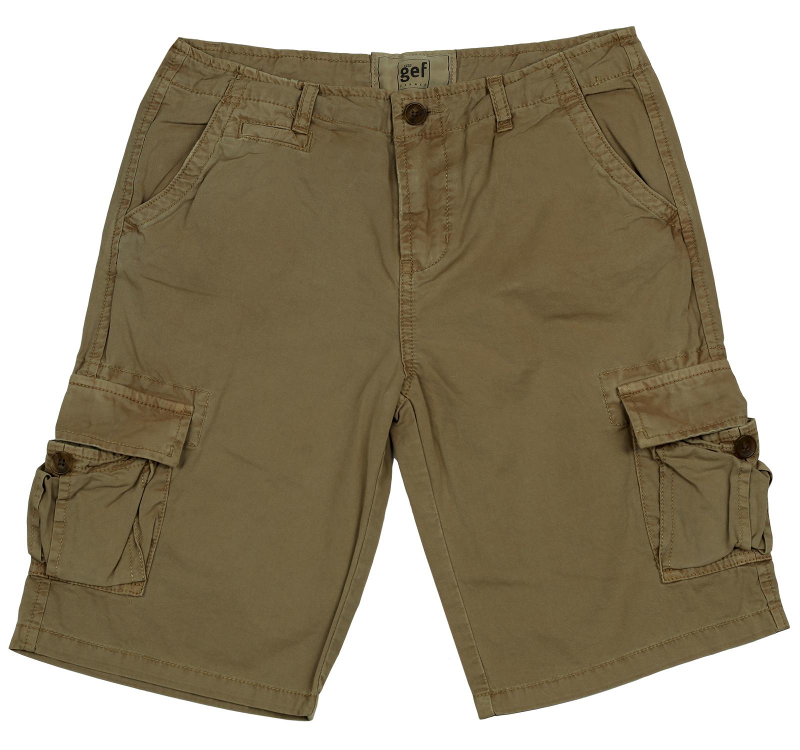Мужские шорты Gef из натурального хлопка. Эксклюзивная модель!