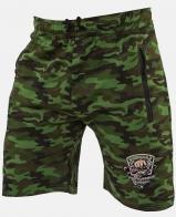 Мужские шорты из хлопка для рыбаков с тематическим шевроном