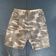 Мужские шорты камуфляжные от IRON CO