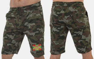 Мужские шорты камуфляж Погранвойска.