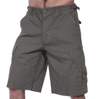Мужские шорты карго хаки от мирового военного бренда MIL TEC