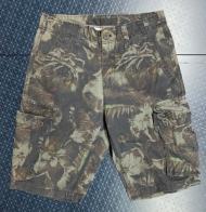 Мужские шорты карго из камуфлированной ткани
