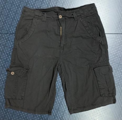 Мужские шорты карго от DENIM HOUSE темного оттенка