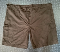 Мужские шорты коричневого цвета