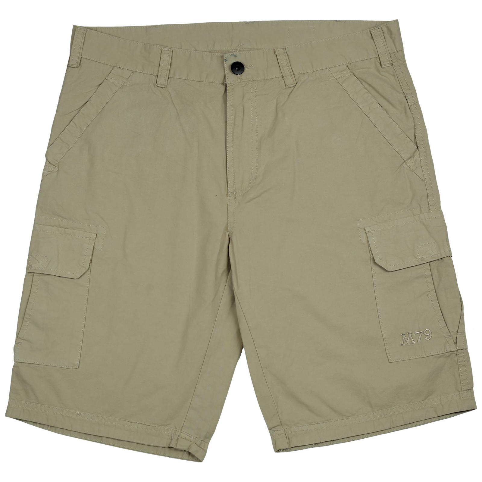 Мужские шорты М79 из хлопка. Практичная модель на каждый день