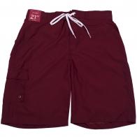 Мужские шорты Merona бордового цвета