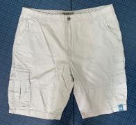 Мужские шорты от  Iron Co. белого цвета