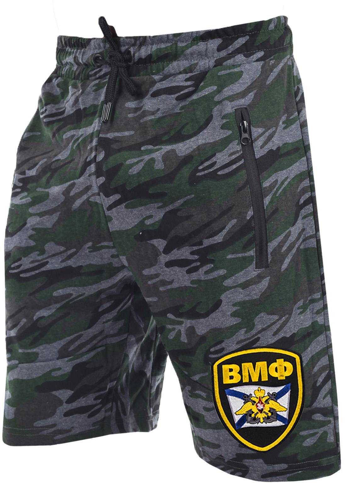 Мужские шорты с карманами на молнии.