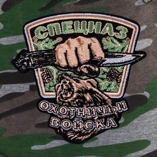 Мужские шорты с нашивкой Охотничий спецназ купить в розницу