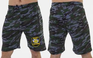 Мужские шорты свободного фасона с нашивкой Флот России - купить в подарок
