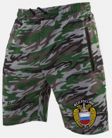 Купить мужские шорты в армейском камуфляже