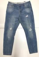 Мужские стильные джинсы с прорехами