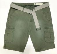 Мужские стильные шорты с накладными карманами
