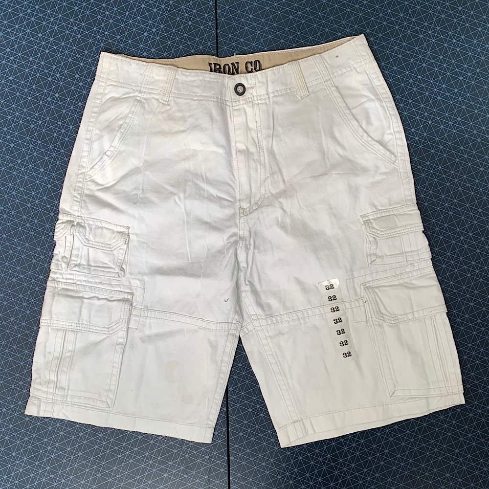 Мужские светлые шорты IRON CO