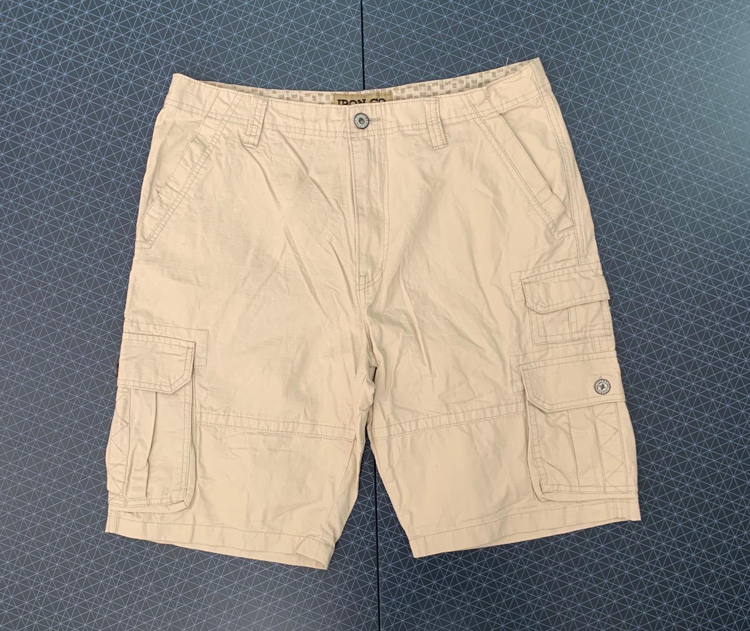 Мужские светлые шорты от IRON CO