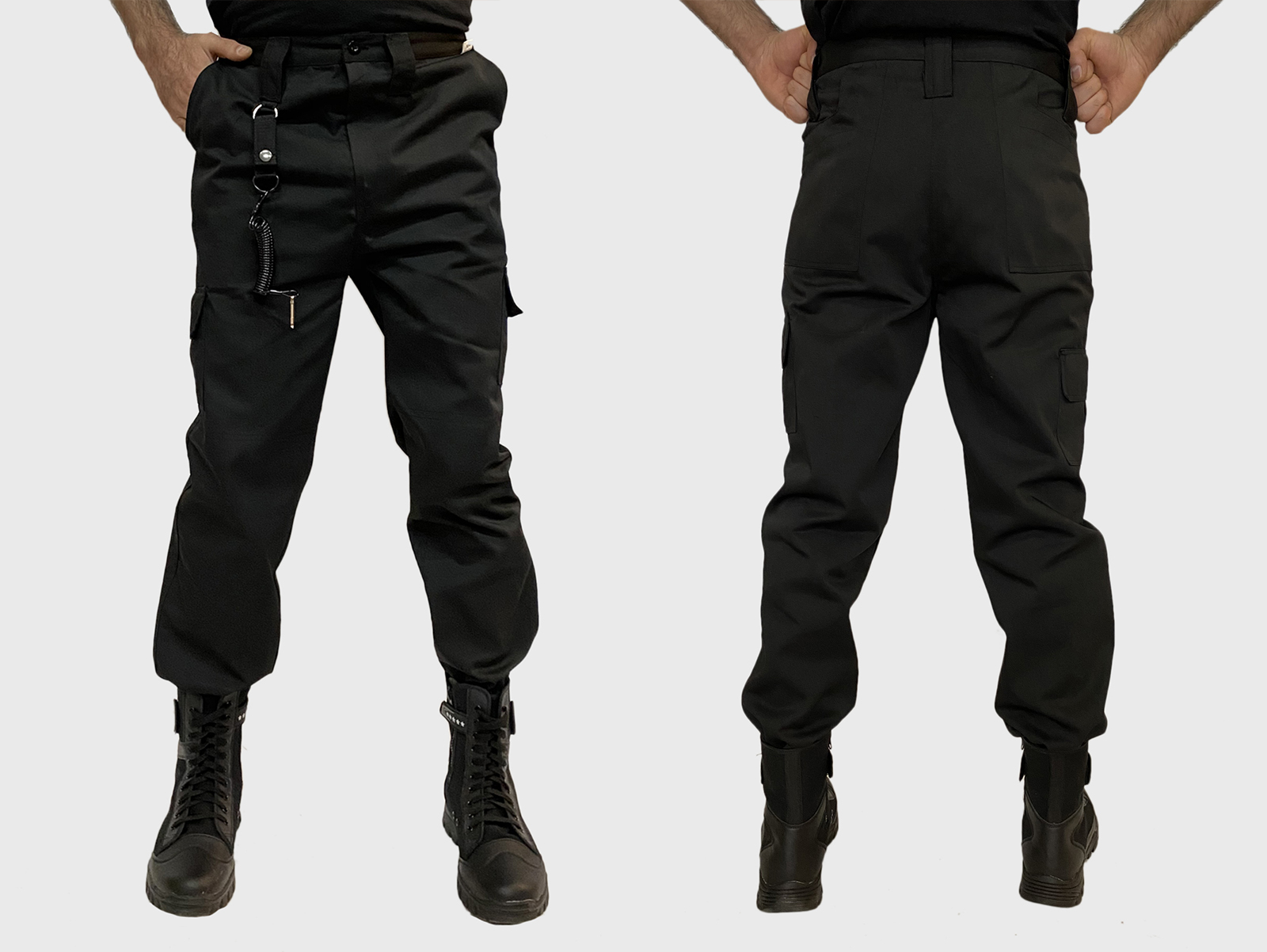 Купить в Москве мужские черные тактические брюки