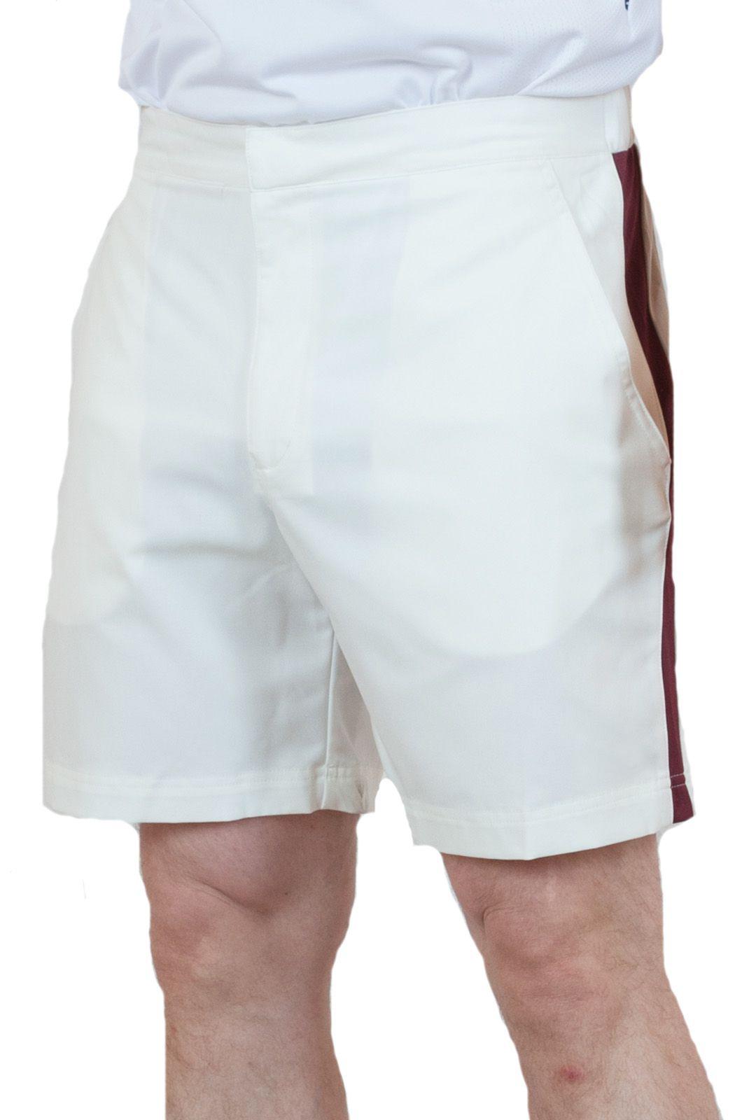 Мужские теннисные шорты белого цвета