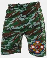 Купить мужские трикотажные шорты с нашивкой Потомственный казак