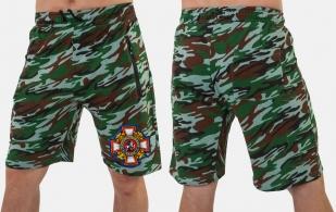Мужские трикотажные шорты с нашивкой Потомственный казак купить в подарок