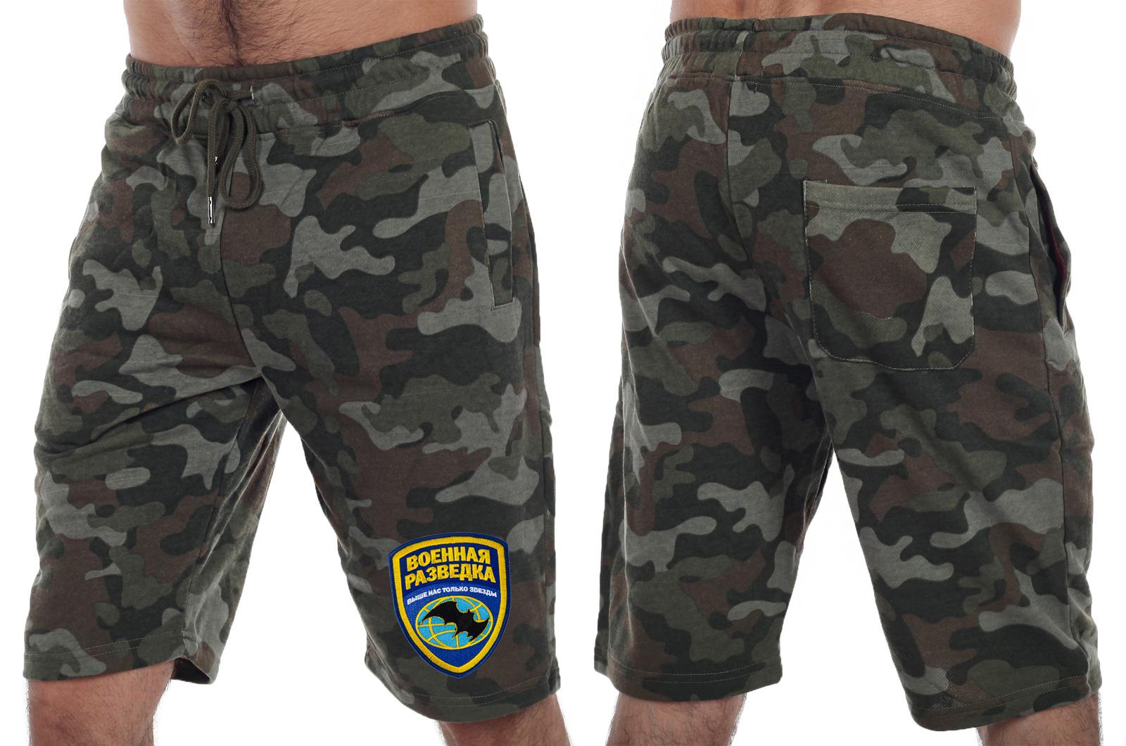 Мужские военные шорты