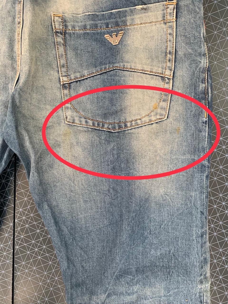 Мужские зачетные джинсы