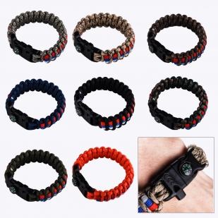 Мужские браслеты из шнурков разных цветов