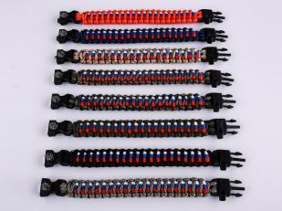 Мужской браслет из шнурков по выгодной цене
